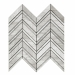 Wooden White 3 Finish Chevron