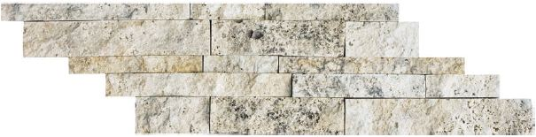 Anti Och Travertine : Stacked ledgers tile stone warehouse